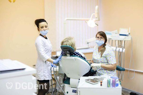 Лечение зубов в стоматологической клинике DGDent